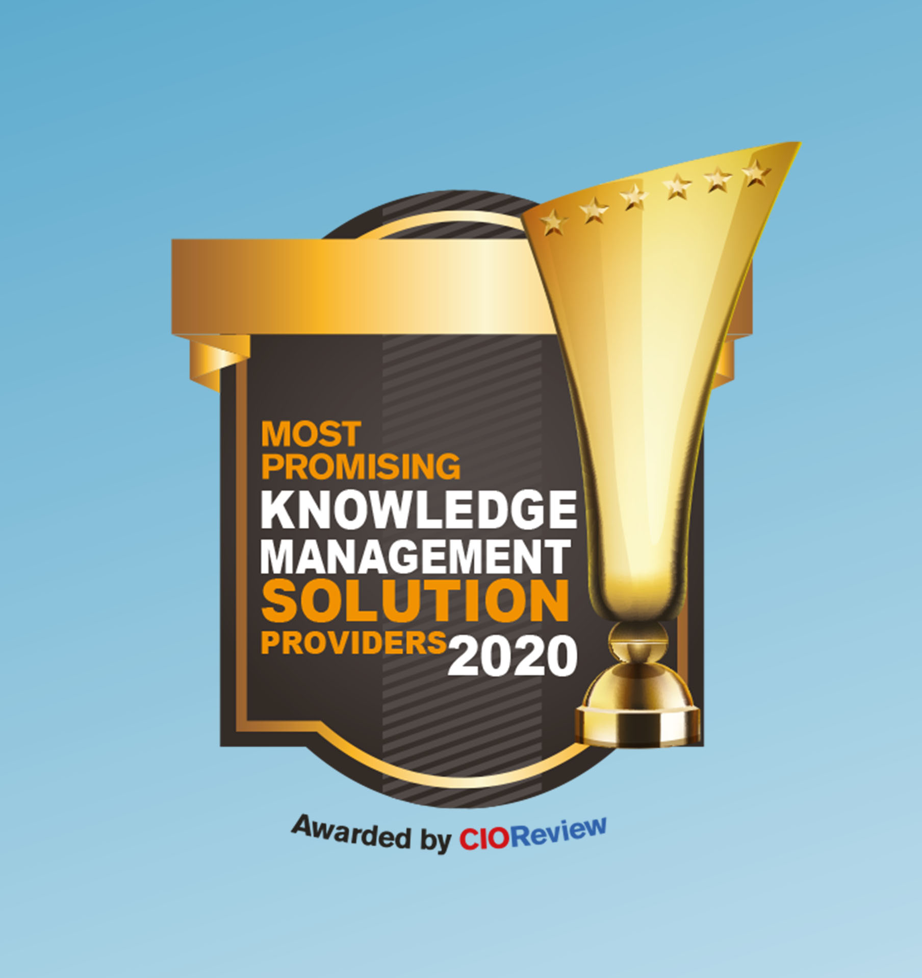 CIOReview: Most Promising Knowledge Management Solution Award: Serviceware Knowledge.