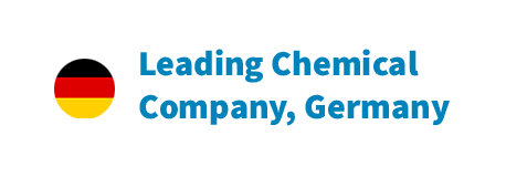Leading Chemical Company Germany with german flag