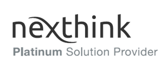 Nexthink Platinum Solution Provider.